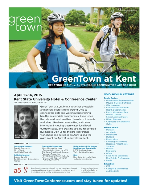 Flyer GreenTown at Kent