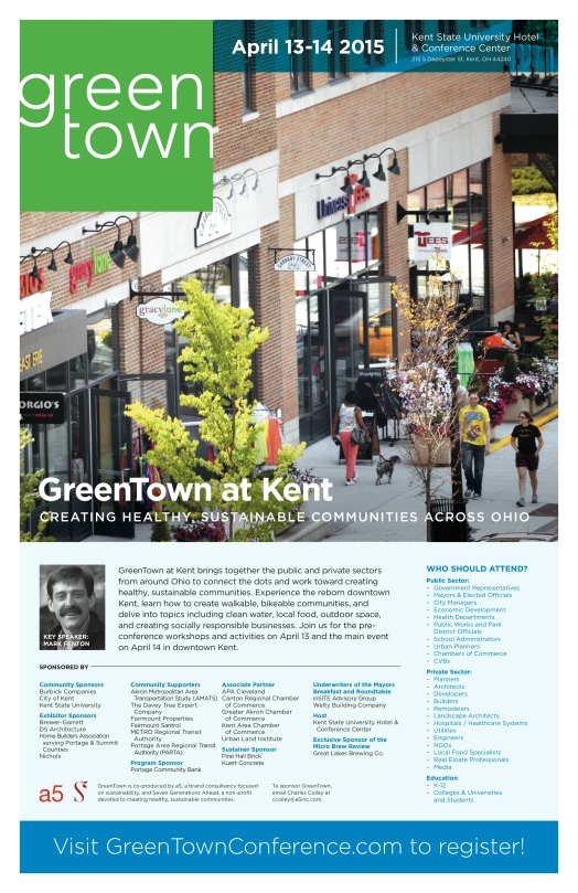 GreenTown at Kent Poster