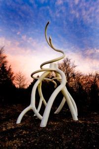 StevenTobin_sculpture_Steel_root_growth