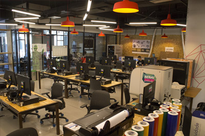 senai-fablab-in the CTS Automation and Simulation-Rio