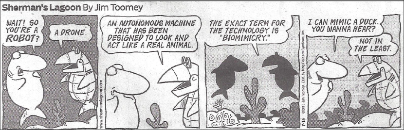 Biomimicry Cartoon