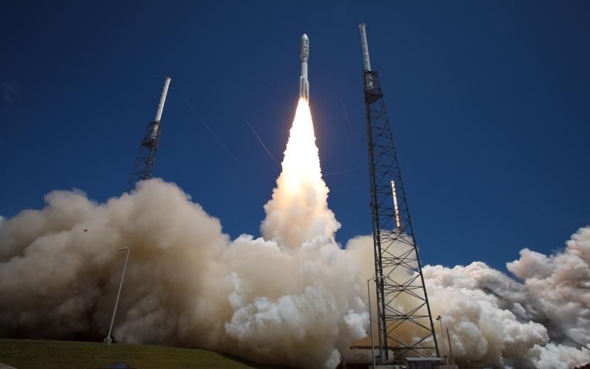 Atlas V Rocket Launches with Juno Spacecraft